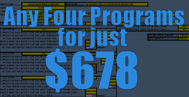 Choose Any Four Programs for $678