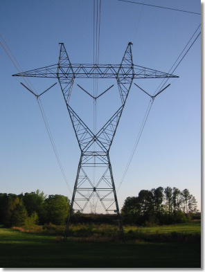 Sag Calcuations for Steel Power Line Tower