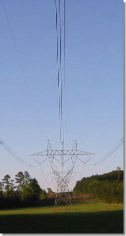500kv Powerline tower